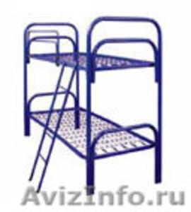 кровати двухъярусные и одноярусные металлические для рабочих и турбаз - Изображение #5, Объявление #689406