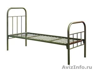 кровати двухъярусные и одноярусные металлические для рабочих и турбаз - Изображение #4, Объявление #689406