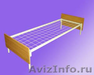 кровати двухъярусные и одноярусные металлические для рабочих и турбаз - Изображение #3, Объявление #689406
