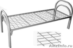 кровати двухъярусные и одноярусные металлические для рабочих и турбаз - Изображение #1, Объявление #689406