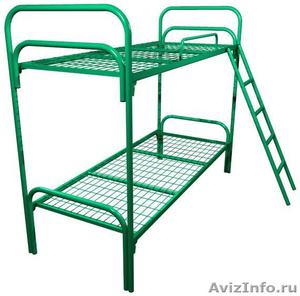 Кровати для рабочих, кровати двухъярусные для строителей, металлические кровати - Изображение #6, Объявление #897937