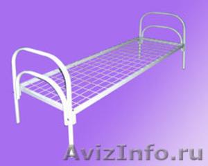 Кровати для рабочих, кровати двухъярусные для строителей, металлические кровати - Изображение #1, Объявление #897937