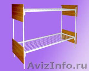 Кровати для рабочих, кровати двухъярусные для строителей, металлические кровати - Изображение #3, Объявление #897937