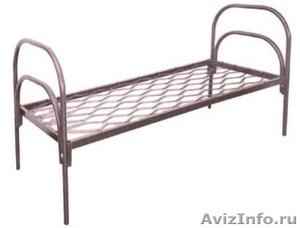 Кровати для рабочих, кровати двухъярусные для строителей, металлические кровати - Изображение #5, Объявление #897937