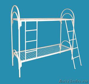 Армейские металлические кровати, двухъярусные кровати для детских лагерей - Изображение #1, Объявление #1478854