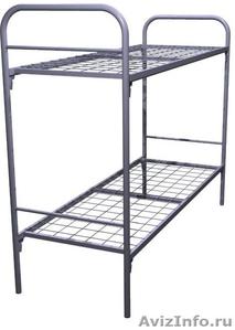 Кровати металлические для казарм, кровати трёхъярусные для рабочих. оптом. - Изображение #3, Объявление #1479548