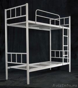 Кровати металлические для казарм, кровати трёхъярусные для рабочих. оптом. - Изображение #4, Объявление #1479548