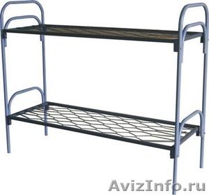 Кровати металлические для казарм, кровати трёхъярусные для рабочих. оптом. - Изображение #5, Объявление #1479548