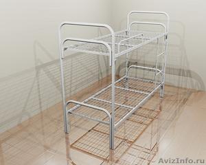 Металлические кровати для общежитий, кровати армейские, кровати оптом. - Изображение #4, Объявление #1479820