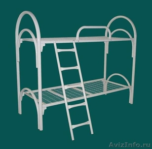Металлические кровати для общежитий, кровати металлические для интернатов. - Изображение #2, Объявление #1479836