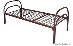 Металлические кровати для общежитий, кровати армейские, кровати оптом. - Изображение #3, Объявление #1479820