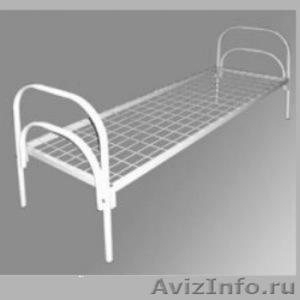 Металлические кровати для общежитий, кровати металлические для интернатов. - Изображение #3, Объявление #1479836