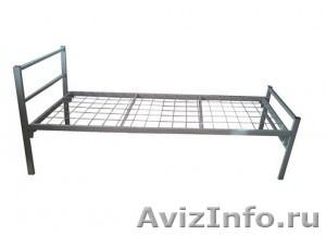 Кровати металлические для казарм, кровати трёхъярусные для рабочих. оптом. - Изображение #1, Объявление #1479548