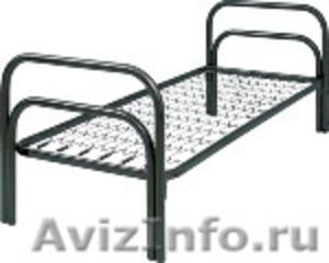 Металлические кровати для общежитий, кровати армейские, кровати оптом. - Изображение #2, Объявление #1479820
