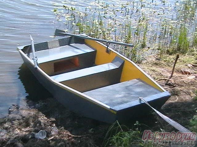 Небольшую лодку под мотор своими руками 57