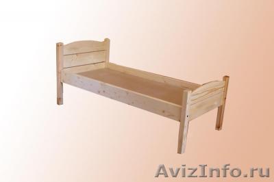 Кровать детская из мебельных щитов