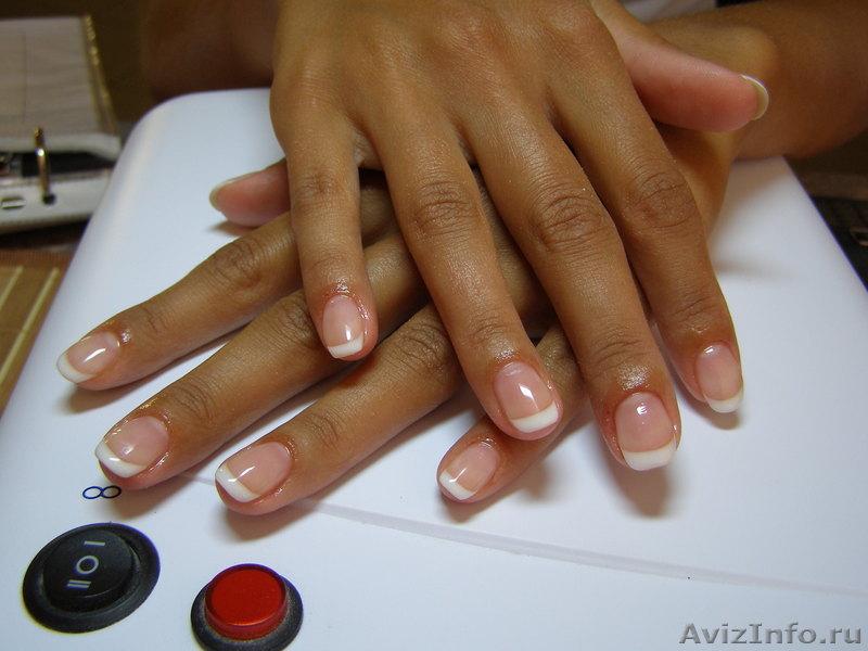 Покрытие натуральных ногтей биогелем
