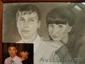 портреты маслом и карандашём