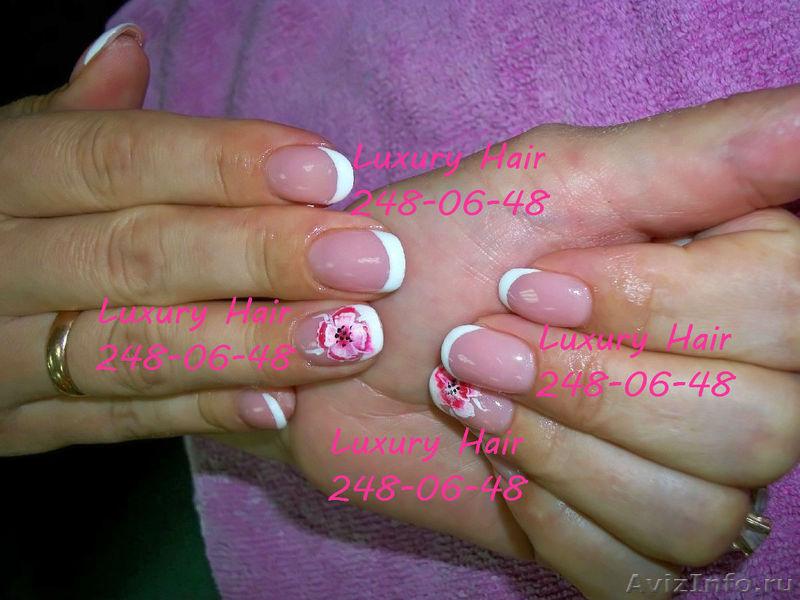 Дизайн ногтей биогелем