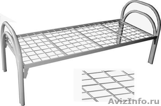 кровати двухъярусные и одноярусные металлические для рабочих и турбаз, Объявление #689406