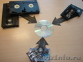 Перевод ( Оцифровка ) видеокассет на DVD диск