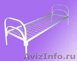 Кровати для рабочих, кровати двухъярусные для строителей, металлические кровати, Объявление #897937