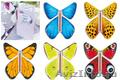 Летающая бабочка-вкладыш flying butterfly для открыток оптом и в розницу