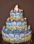 Торты из сладостей (Барни,  Киндер,  Сок др.) в детский сад и не только