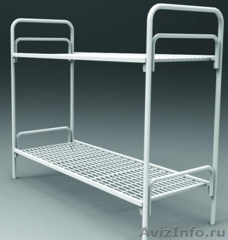 Металлические кровати для общежитий, кровати армейские, кровати оптом., Объявление #1479820