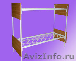Металлические кровати для общежитий, кровати металлические для интернатов., Объявление #1479836